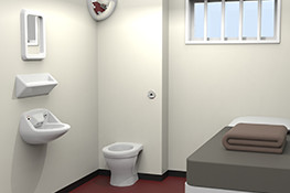 prisons custodial immigration cell sanitary ware